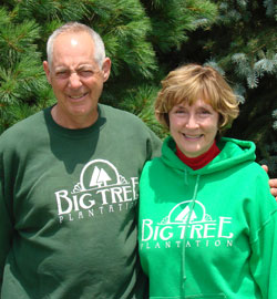 Dr. Frank and Ann Antenucci began Big Tree Plantation in Morrow, Ohio to provide top quality Christmas Trees for the Cincinnati, Lebanon, and Morrow communities.